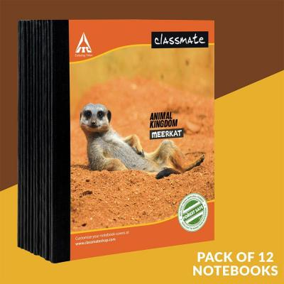 Notebook,19x15.5cm,92 pages,Square - 1Cm(Pack of 12)