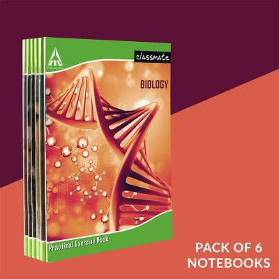 Classmate Practical Book - Biology, 108 pages, Single Line/Blank