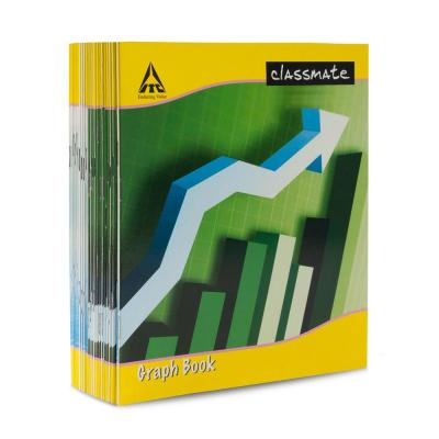 Classmate Graph Book, 32 pages, (Pack of 24)